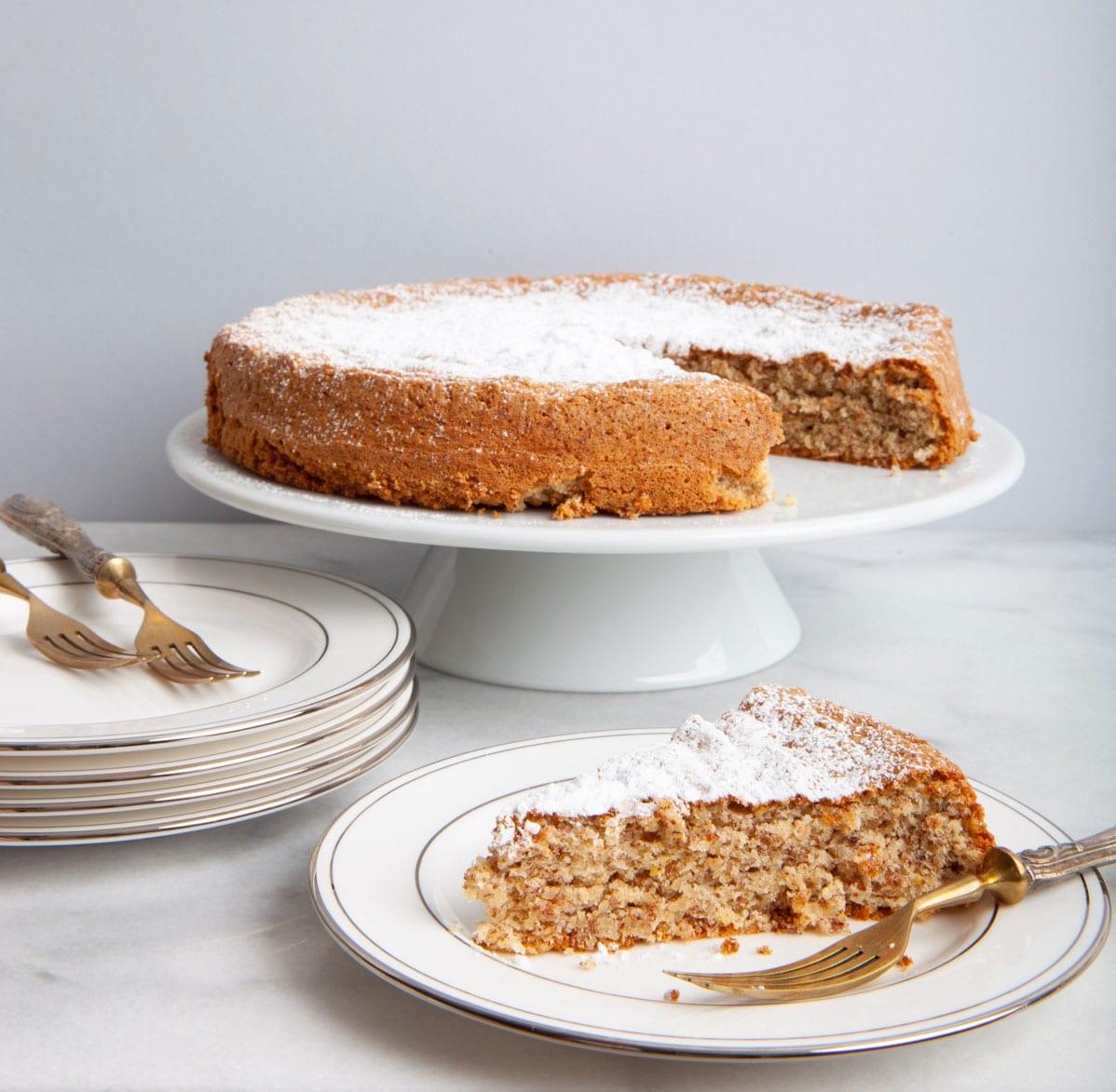 rustic apricot kernel cake ziba foods